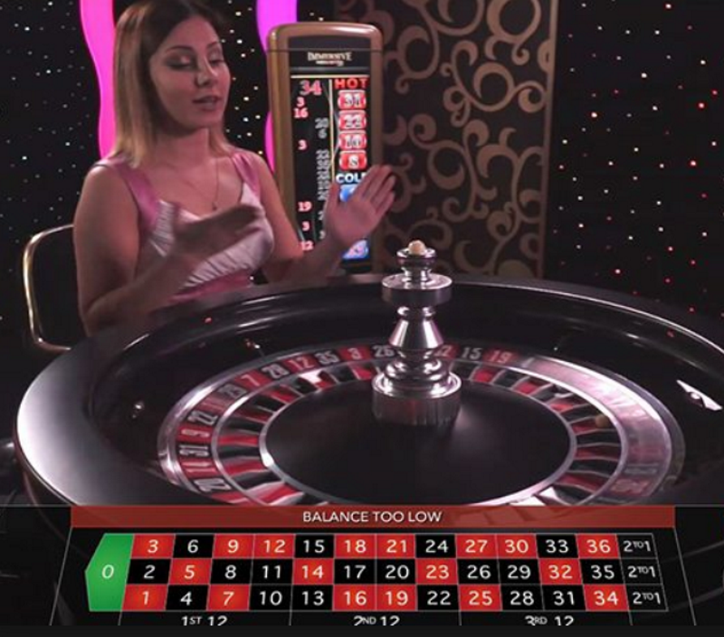 roulette live omnislots